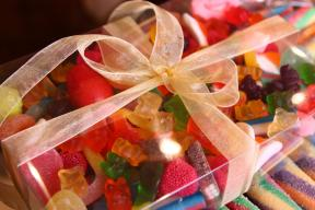 Gummy candy packages Image